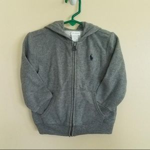 Ralph Lauren Infant Boys Girls Grey Sweat Suit